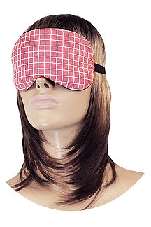 Padded Eye Mask & Soothing Gel Pad Set (CHECKER)