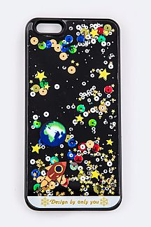 Color Planet Floating Iphone 6 Case