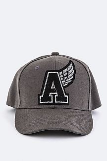 Winged A Embroidery Cap