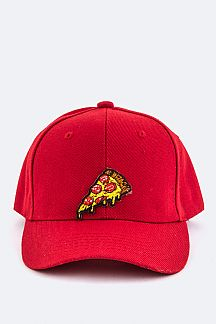 Pizza Patch Fashion Cap