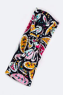 Kids Size Paisley Pattern Turban Knot Headband