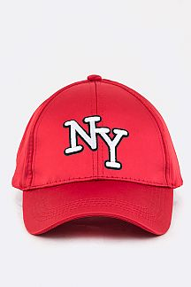 NY Embroidery Satin Cap