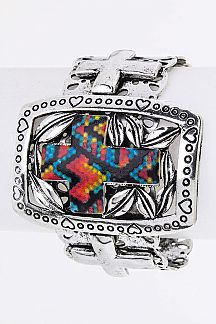 Iconic Cross Cuff