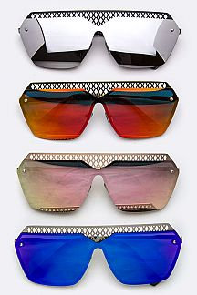 Iconic Top-Bar Unilens Sunglasses