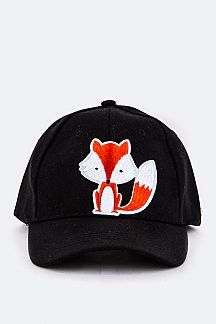 Fox Patch Baseball Cap