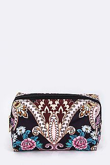 Paisley Print Pouch