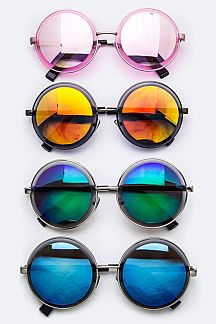Iconic Round Fashion Sunglasses