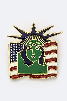 Statue of Liberty Brooch