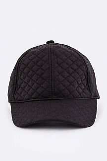 Quilted Fashion Cap
