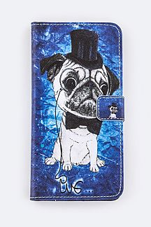 Pug Gentleman Iphone 6 & 6Plus Fashion Case