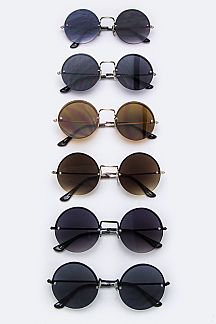 Kids Mix Shades Round Sunglasses