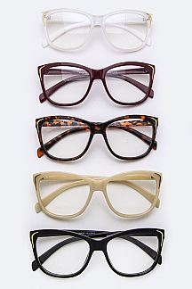 Mix Color Trendy Optical Glasses