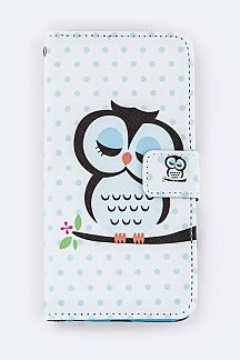 Sleeping Ow; Iphone 6 Fashion Case