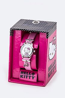 Enamel Bow Charms HELLO KITTY Watch