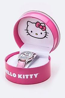 Crystal Bezel HELLO KITTY Watch
