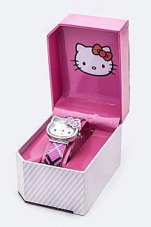 Enamel Bow HELLO KITTY Watch