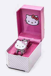 Open Case Stretch HELLO KITTY Watch