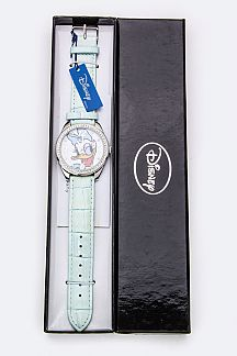 Crystal Bezel DAISY DUCK Watch