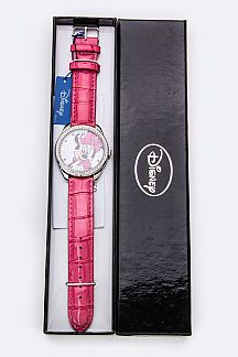 Crystal Bezel MINNIE MOUSE Watch