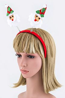 Plushy Santa Claus Headband