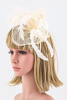 Mesh Rose Garden Party Statement Headband