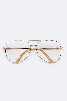 Retro Clear Optical 80's Glasses