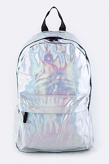 Holographic Color Backpack