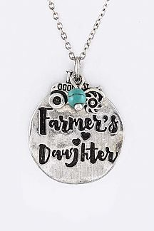 Farmer's Daughter Mix Charms Necklace Set