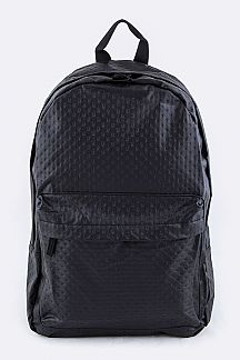 Embossed PU Backpack