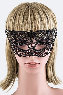 Tie Lace Fashion Mask