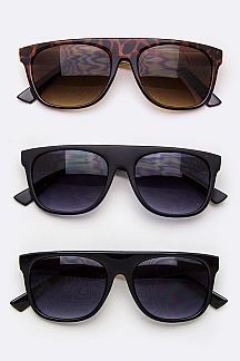 Metal Temple Fashion Sunglasses