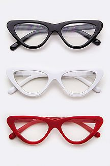 Cat Eye Colored Optical Glasses