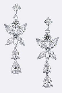 Mix CZ Earrings
