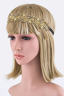 Beaded Lace Iconic Headband