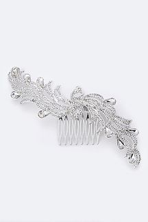 Crystal Peacock Comb