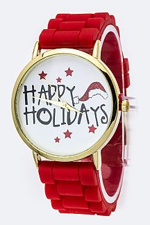 Rubber Band X'mas Watch
