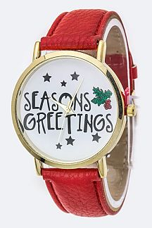 SEASONS GREETINGS X'mas Watch