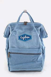 Explorer Patch Iconic Backpack
