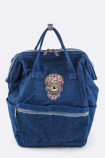 Skull Patch Iconic Backpack