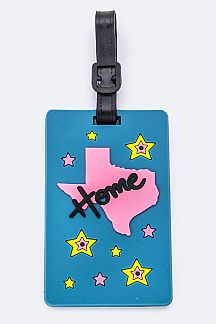 TEXAS State Jelly Bag & Luggage Tag