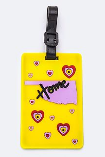 OKLAHOMA State Jelly Bag & Luggage Tag