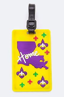 LOUISIANA State Jelly Bag & Luggage Tag