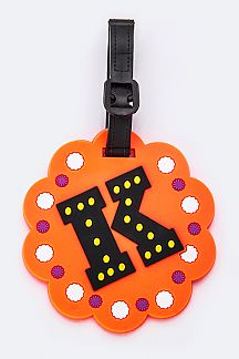 Initial K Jelly Bag & Luggage Tag