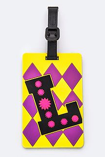 Initial L Jelly Bag & Luggage Tag