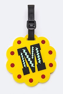 Initial M Jelly Bag & Luggage Tag