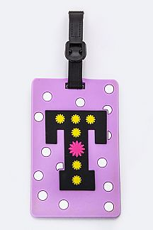 Initial T Jelly Bag & Luggage Tag