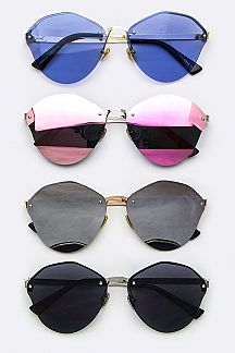 Fashion Rimless Sunglasses