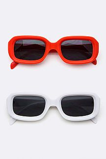 Iconic Rectangular Fashion Sunglasses
