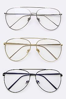 Aviator Style Optical Glasses