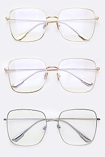 Classic Square Optical Glasses